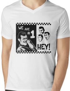 We Are Number One, HEY! Mens V-Neck T-Shirt