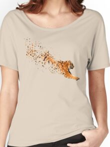 Partikel Tiger Women's Relaxed Fit T-Shirt