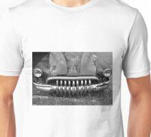 Smile Black And White Unisex T-Shirt