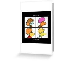 Fragglez Greeting Card