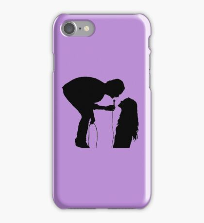 The 1975 Robbers Silhouette  iPhone Case/Skin
