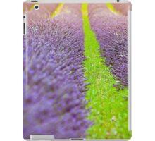 Summer lavender field iPad Case/Skin