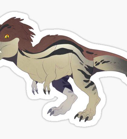 Tyrannosaurus Rex Friend Sticker Sticker