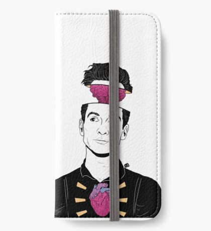 cutting my mind off iPhone Wallet/Case/Skin