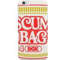 dgk scumbag iPhone Case/Skin