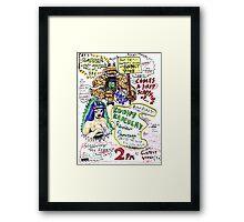 Kount Kracula's Review Showcase -TV Show Promo Poster #2 Framed Print