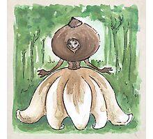 Empire of Mushrooms: Geastrum minimum Photographic Print