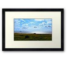 Crosby Beach Seascape Framed Print