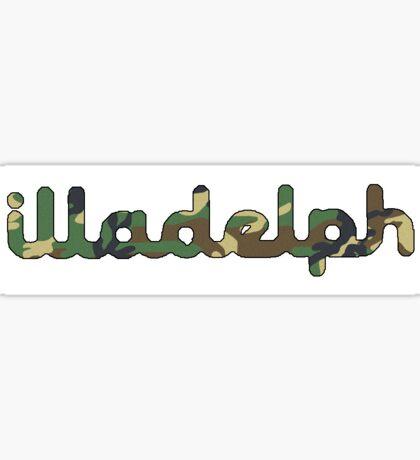 Illadelph Camo Sticker