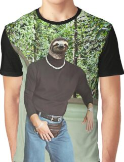 Dwayne The Sloth Johnson Graphic T-Shirt