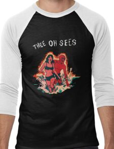Thee Oh Sees 2 Men's Baseball ¾ T-Shirt