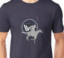 Cowgal with a horse Unisex T-Shirt