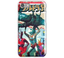 Ultra Man - Vintage Superhero iPhone Case/Skin