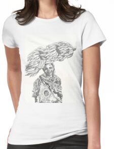 Harvest of plantains Womens Fitted T-Shirt