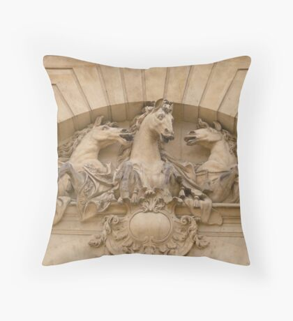 Chantilly, France Throw Pillow