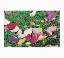 CLOSER TO FALL LEAVES ON GROUND Baby Tee