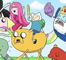 Adventure time by deerumor
