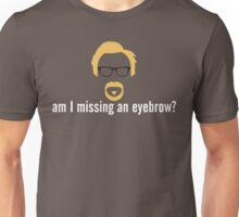 Adam Savage eyebrow Unisex T-Shirt