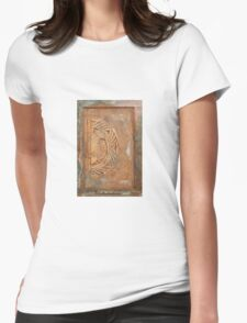Patina Fish Womens Fitted T-Shirt
