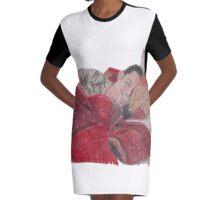 Cozy Anthony Ramos Graphic T-Shirt Dress