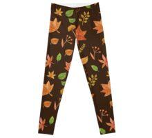 autumn leaves Leggings