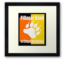 Pillager Band of Chippewa Indians Framed Print