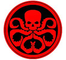 Marvel - Hail Hydra Logo Photographic Print