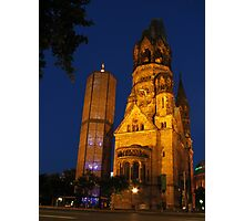 Kaiser Wilhelm Memorial Church Photographic Print