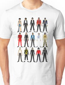Outfits of King Jackson Pop Music Fashion Unisex T-Shirt