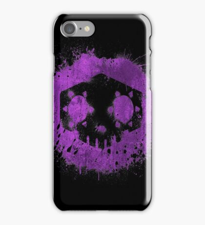 The hacker is here iPhone Case/Skin