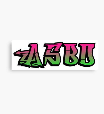 ASBO - A way of life Canvas Print