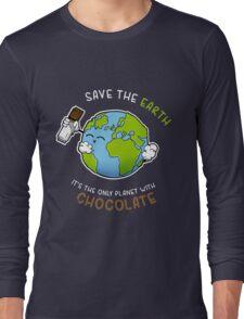 Save Chocolate Long Sleeve T-Shirt