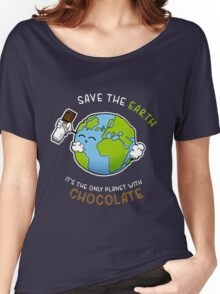 Save Chocolate Women's Relaxed Fit T-Shirt