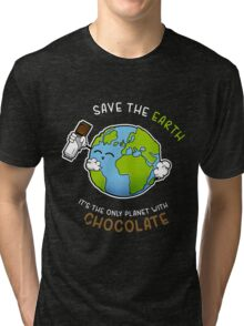 Save Chocolate Tri-blend T-Shirt