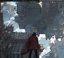 Doctor Strange Warped City Sticker