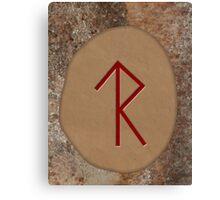 Legal Success Bind Rune Canvas Print