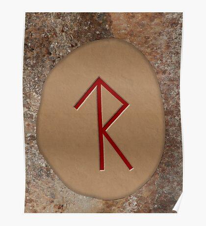 Legal Success Bind Rune Poster