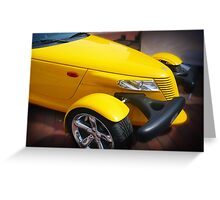 Yellow and Beautiful Greeting Card