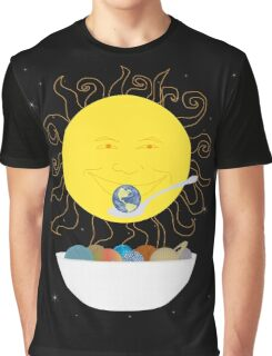 Sun Eating Planets for Breakfast Graphic T-Shirt