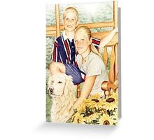 The Carter Kids Greeting Card