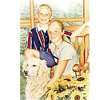 The Carter Kids Photographic Print