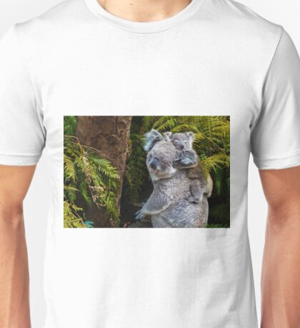 Australian koala bear native animal with baby Unisex T-Shirt