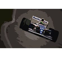 Ayrton Senna - Williams FW16 Photographic Print