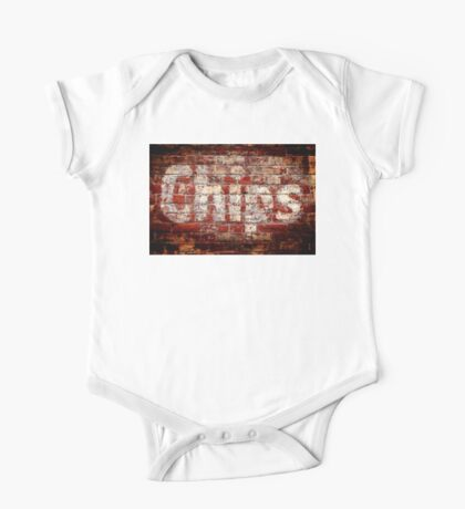 Chips Brick Wall One Piece - Short Sleeve