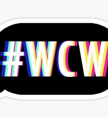 #WCW Sticker