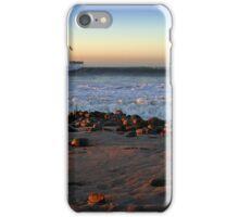 Ocean Wave Storm Pier iPhone Case/Skin