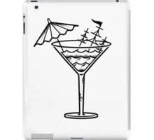 Goin down with the sip! iPad Case/Skin