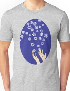 First Snow Night Snowflakes T-Shirt