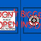 Don't Open, Bigger Inside by Kellyanne