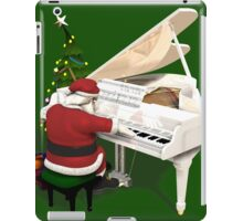 Santa Claus Piano Player iPad Case/Skin